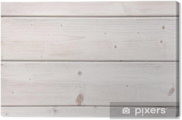 Leinwandbild Weisse Holzwand Nahaufnahme Pixers Wir Leben Um Zu