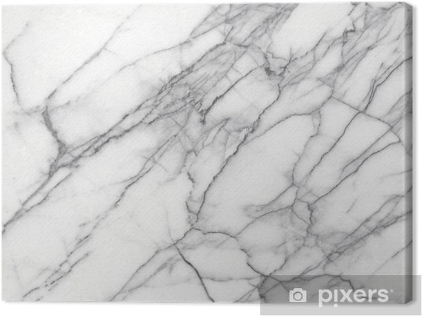 Leinwandbild Weißer Marmor (High.Res.) - iStaging