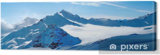 Leinwandbild Winter landschaft - Stile