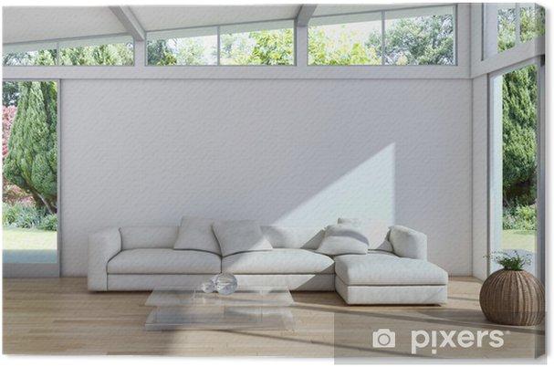 Leinwandbild Wohnzimmer • Pixers® - Wir leben, um zu verändern
