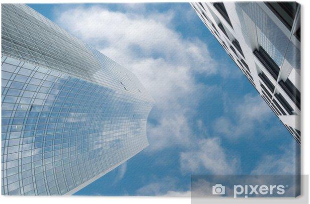Leinwandbild Wolkenkratzer in Manhattan, New York City - Zeichen und Symbole