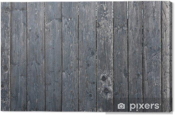 Leinwandbild Wood Fence - Themen