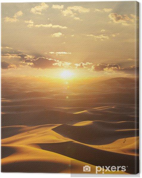 Leinwandbild Wüste - Themen
