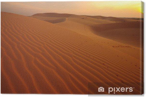 Leinwandbild Wüsten-Landschaft - Wüsten