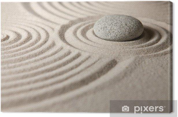 Leinwandbild Zen garden - Religion