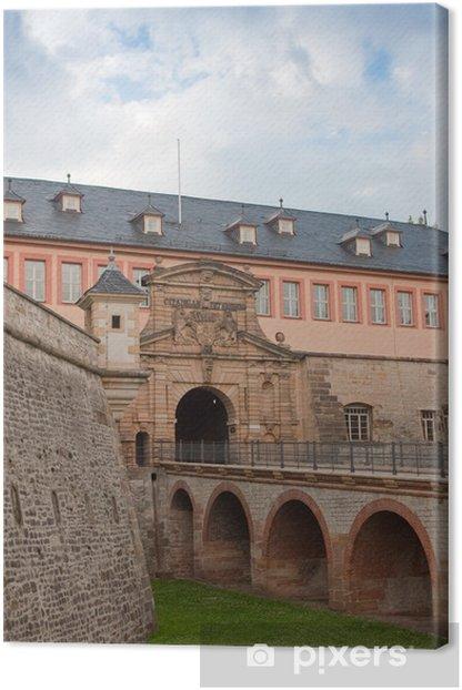 Leinwandbild Zitadelle Petersberg, Erfurt - Europa