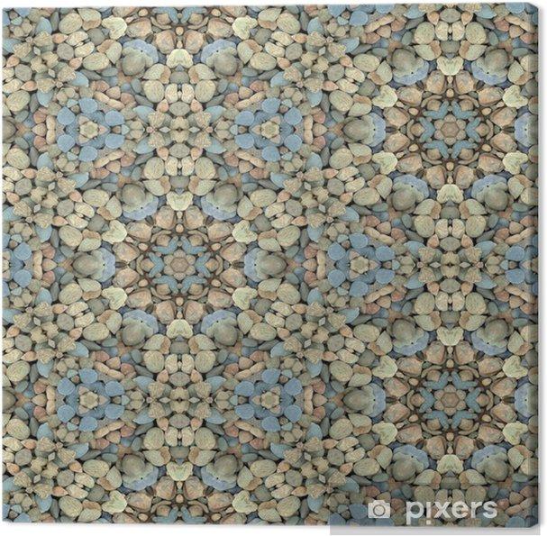 034d6bed Lerretsbilde Abstrakt dekorativ grus tekstur bakgrunn. Sømløs fargerik