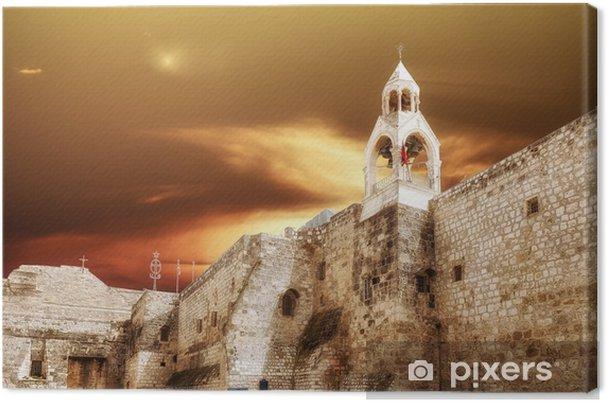 Lerretsbilde Betlehem Basilica of the Nativity - Midtøsten