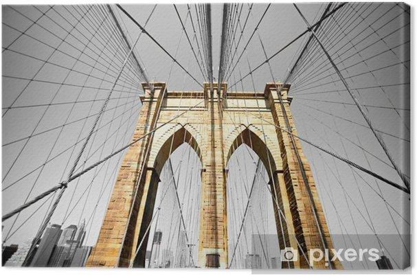 Lerretsbilde Brooklyn broen, New York City. USA. -