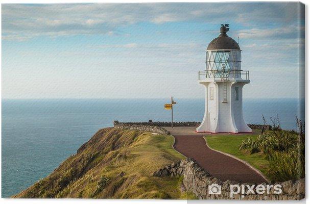 Lerretsbilde Cape Reinga fyr, nordkanten av New Zealand - Oseania