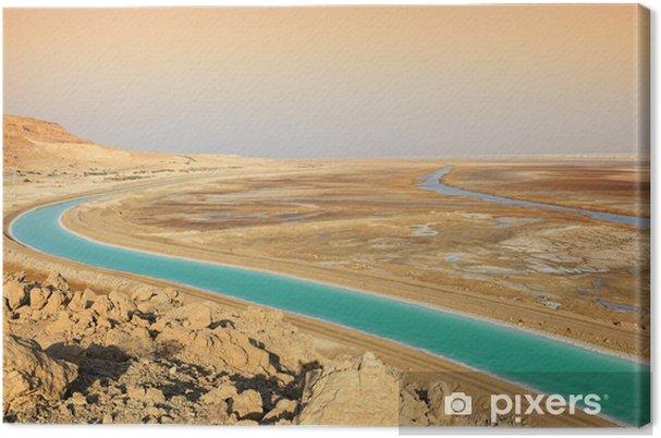 Lerretsbilde Dødehavet - Midtøsten