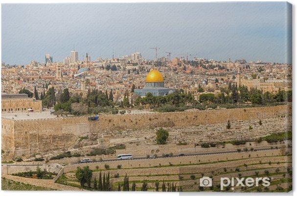Lerretsbilde Dome of the Rock - Midtøsten