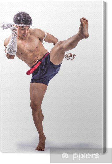 2cbef3e2 Lerretsbilde En thai bokser • Pixers® - Vi lever for forandring
