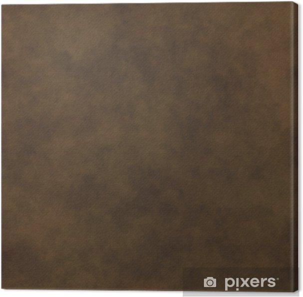 Super Lerretsbilde Et stort bilde av et brunbrunt eller brunt lær UN-93