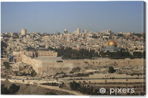 Lerretsbilde Jerusalem - Midtøsten