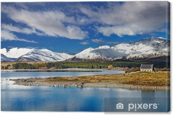 Lerretsbilde Lake Tekapo - New Zealand -