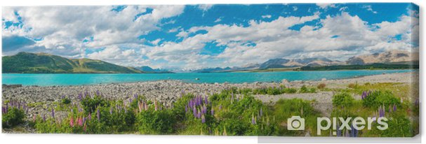 Lerretsbilde Lake Tekapo -