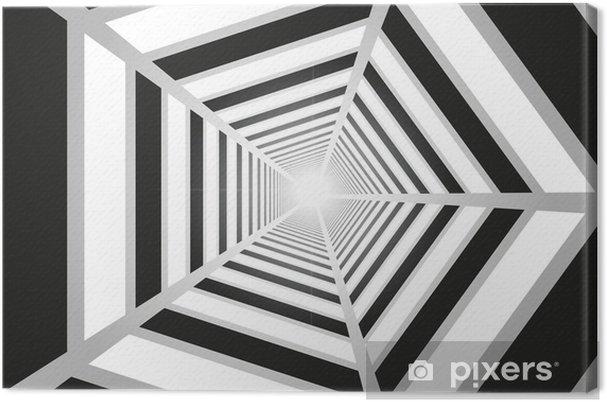 Lerretsbilde Lys i enden av tunnelen -