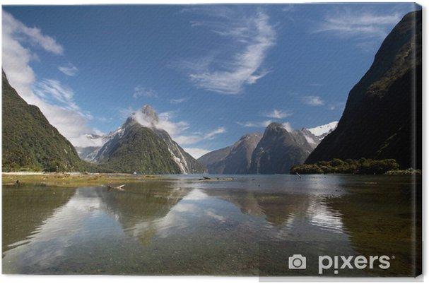 Lerretsbilde Milford Sound i Neuseeland - Oseania
