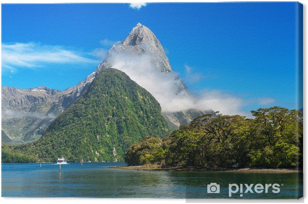 Lerretsbilde Milford Sound - Oseania
