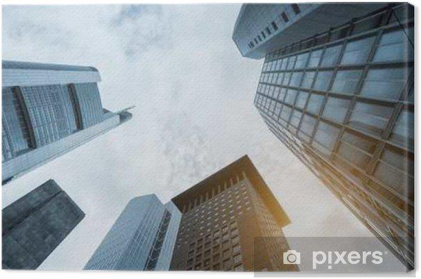 Lerretsbilde Moderne büro Gebäude - Forretning