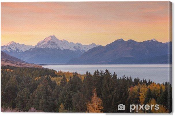 Lerretsbilde Mt. kokk - Oseania
