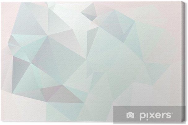 Lerretsbilde Myk pastell abstrakt geometrisk bakgrunn med gradienter vektor - Styles