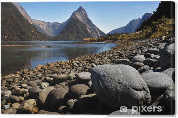 Lerretsbilde New Zealand Fiordland - Oseania