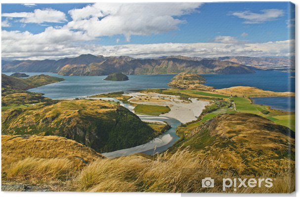 Lerretsbilde New zealand -