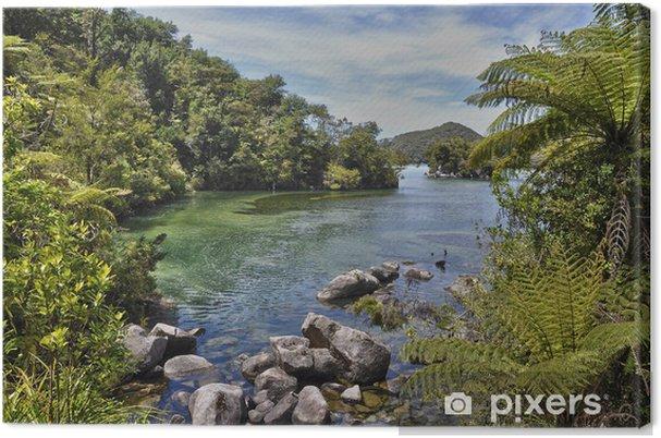 Lerretsbilde Parc Abel Tasman - Nouvelle-Zélande - Oseania