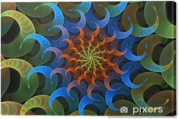 Lerretsbilde Psychedelic Spiral -