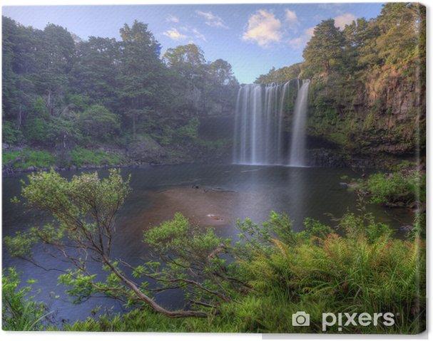 Lerretsbilde Rainbow Falls, Kerikeri -