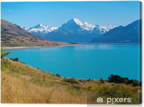Lerretsbilde Smaragdbreen Lake Pukaki, Aoraki Mt Cook NP, NZ - Oseania