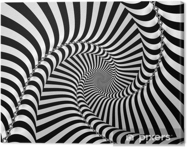 Lerretsbilde Spiraltid -