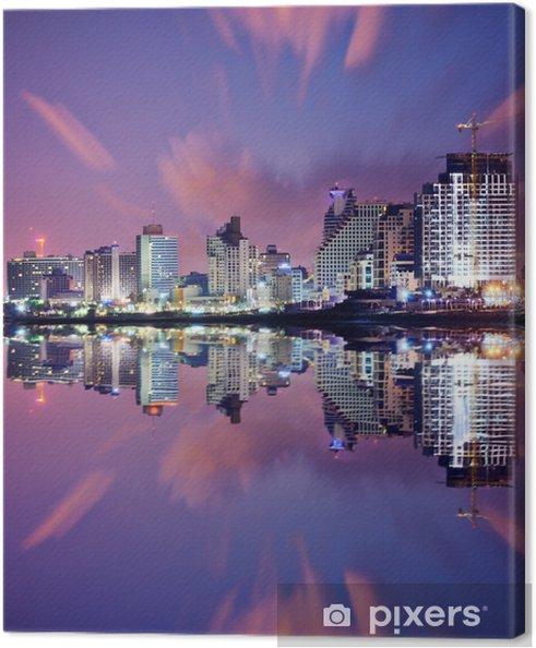 Lerretsbilde Tel-Aviv Cityscape - Midtøsten