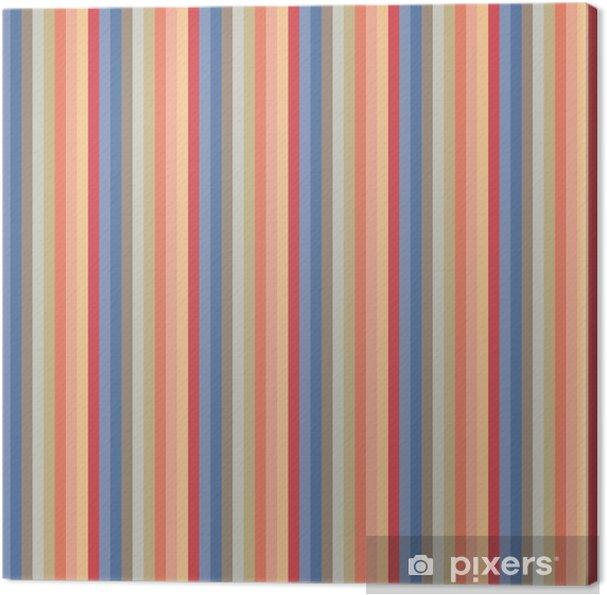 1099d444 Lerretsbilde Usa farge stil sømløse striper mønster. abstrakt vektor  bakgrunn.