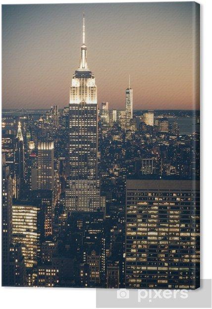 new york bilder på lerret