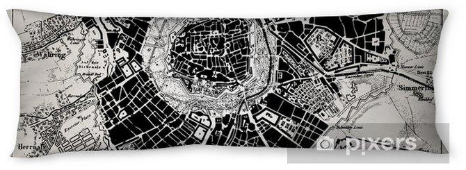Lichaamskussen Historische kaart van Wenen, Oostenrijk. - Thema's