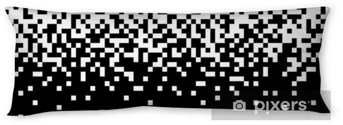 Lichaamskussen Pixel abstracte mozaïek achtergrond - Grafische Bronnen