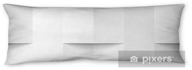 Lichaamskussen Wit naadloze geometrische textuur - Grafische Bronnen