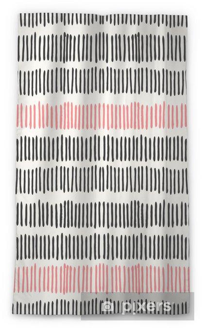 Lichtdurchlässiger Fenstervorhang Abstract lines seamless pattern. - Stile