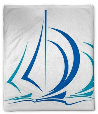Manta de felpa Dinámica de Movimientos de veleros