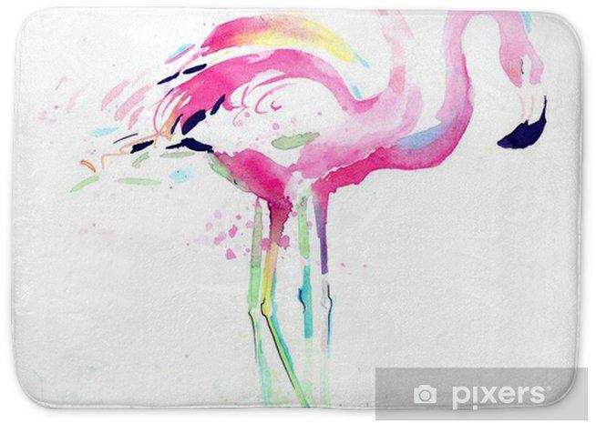 Mata łazienkowa Flaming - Zwierzęta