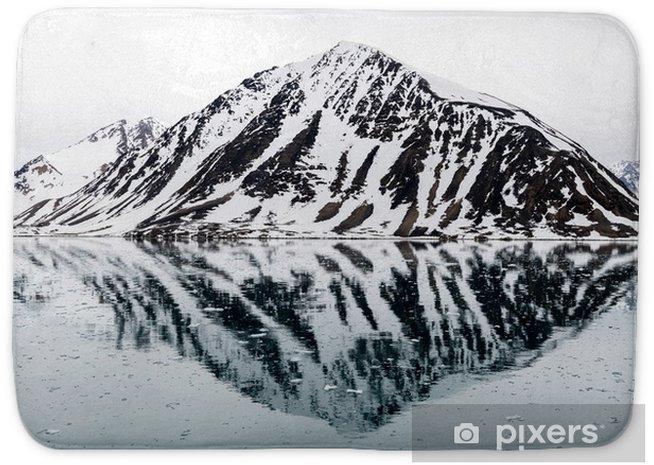 Mata łazienkowa Skały w Arktyce - Podróże