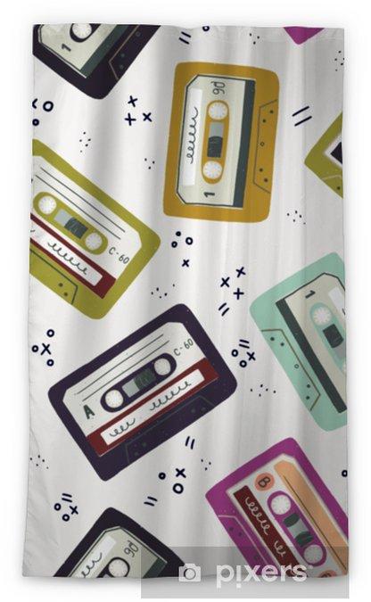 Mörkläggande fönstergardin Handgjord kassettband sömlöst mönster - Teknik