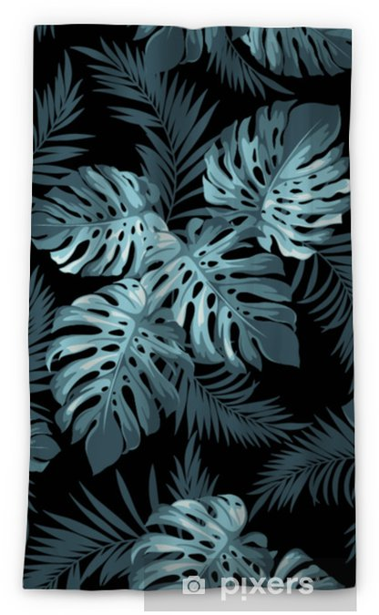 Mörkläggande fönstergardin Tropiska löv - Växter & blommor