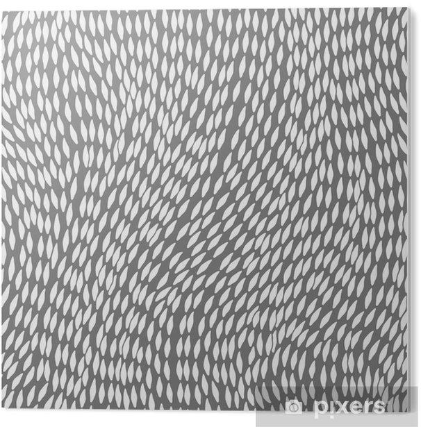 Obraz na PCV Jednolite abstrakcyjne ręcznie rysowane wzór, fale tle - Tła