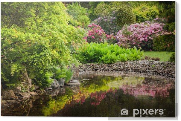 Obraz na PCV Ogród pełen kwiatów - Style