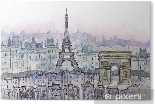 Obraz na PCV Paryż - Style