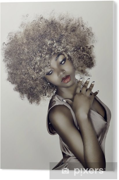 Obraz na PCV Włosy modelu glamour -